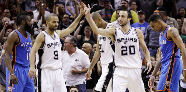 İlk raundu Spurs kazandı