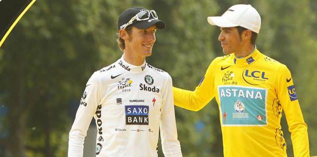 Contador'un şampiyonluğu Schleck'e verildi