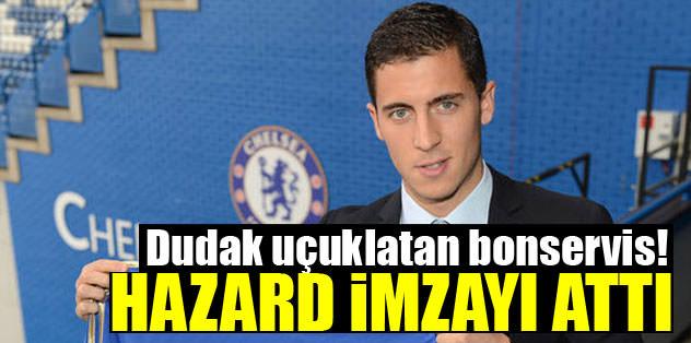 Eden Hazard resmen Chelsea'de