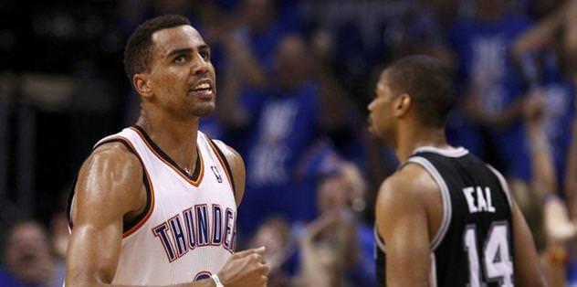 Thunder snap Spurs' 20-game winning streak