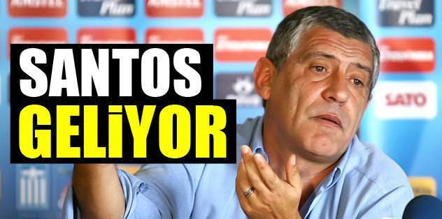 Santos geliyor