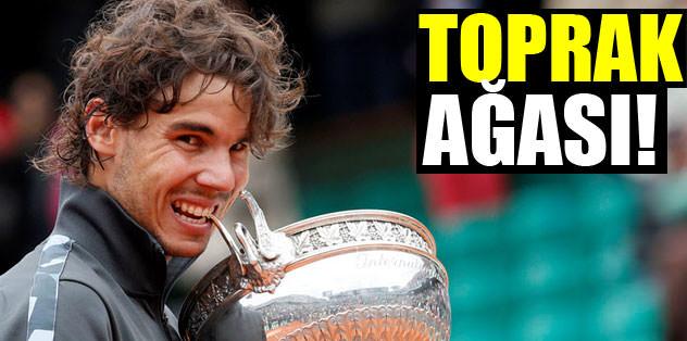 Toprak ağası Nadal!