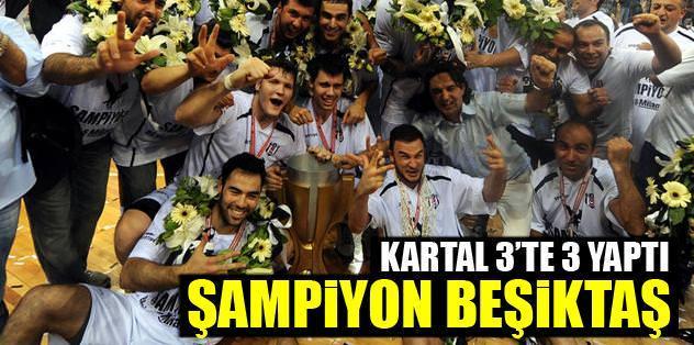 Beşiktaş Milangaz şampiyon
