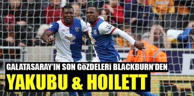 Galatasaray'ın son gözdeleri Blackburn'den