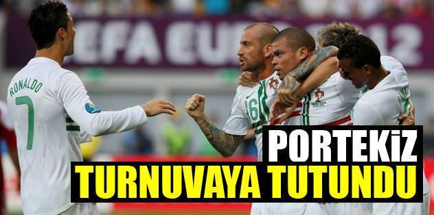Portekiz turnuvaya tutundu