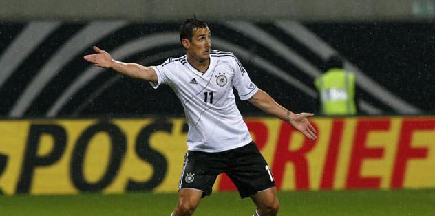 Miroslav Klose'ye markaj
