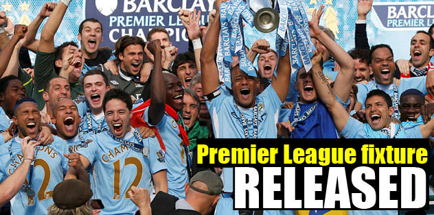 Premiere League fixture released