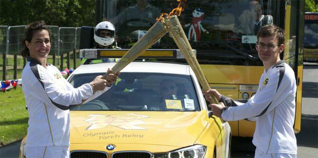 Olimpiyat meşalesi Türkler'in elinde