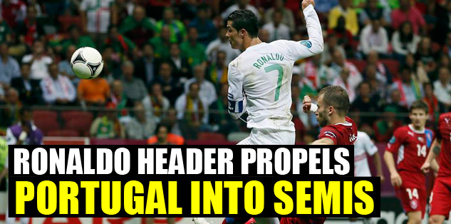 Ronaldo header propels Portugal into semis