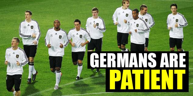 Germans are patient