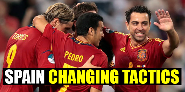 Spain changing tactics