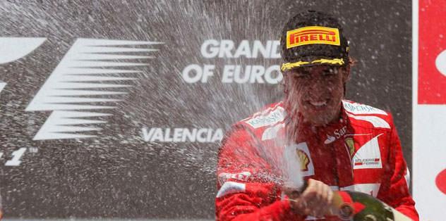 Alonso'dan mucize finiş