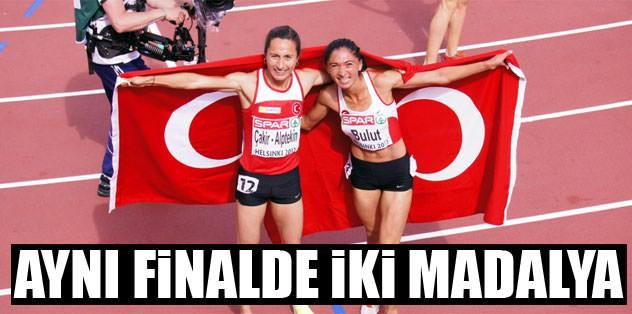 Atletizm'de iki madalya daha!