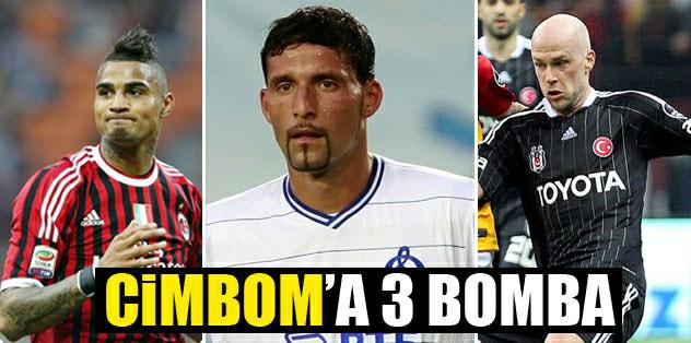 Cimbom'a 3 bomba