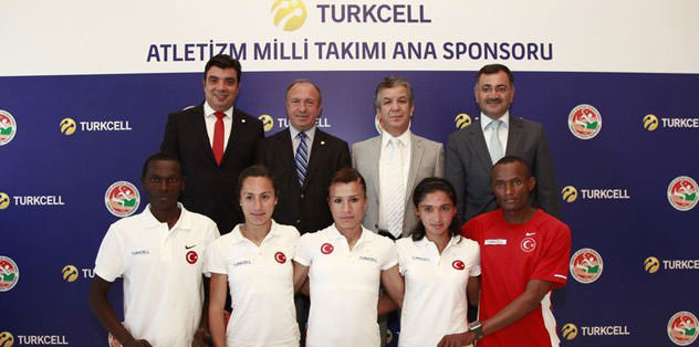 Turkcell'den atletizme katkı