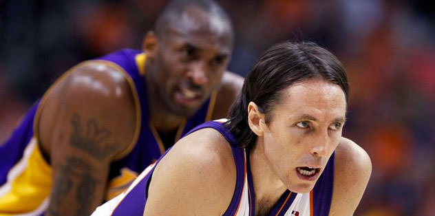 Steve Nash de LA Lakers'ta