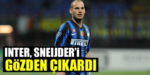 Inter, Sneijder'i gözden çıkardı