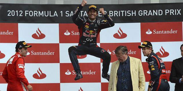 İngiltere'de Mark Webber rüzgarı