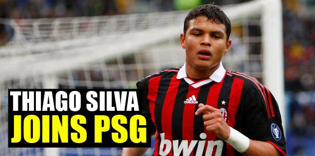 Thiago Silva joing PSG