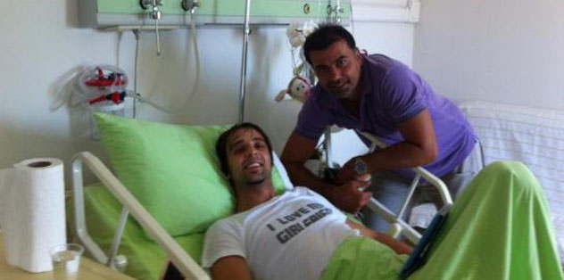 Ali Cansun'a apandist ameliyatı