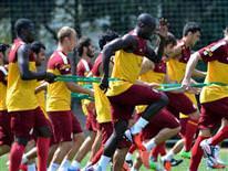 Galatasaray haz�rl�klar�n� s�rd�rd�