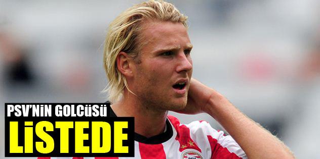PSV'nin golcüsü listede