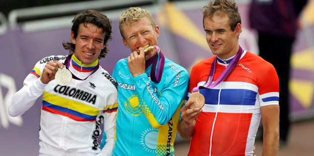 Milli bisikletçiler yarışı tamamlayamadı
