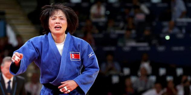 Kuzey Kore tarihinde ilk altın madalya