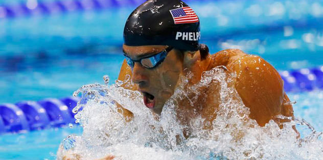 Michael Phelps son anda!