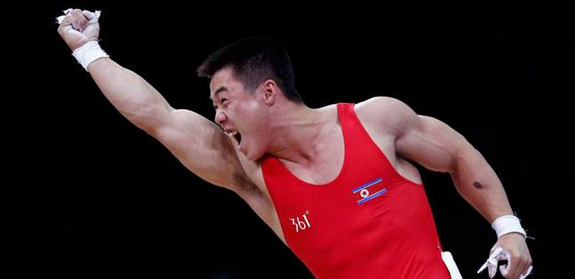 Guk Un Kim'den halterde olimpiyat rekoru