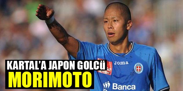 Kartal'a Japon golcü Morimoto