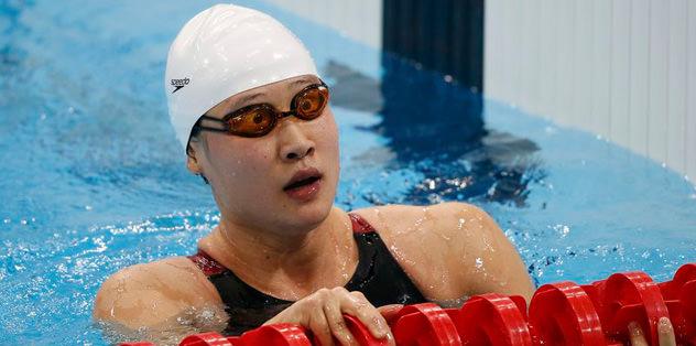 Çinli yüzücüden olimpiyat rekoru