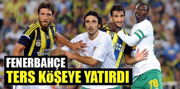 Fenerbahçe ters köşeye yatırdı