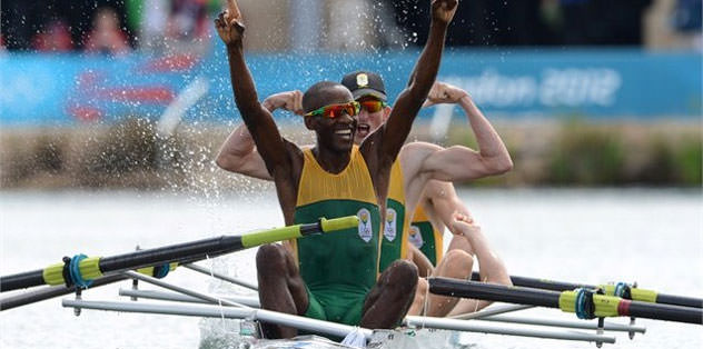 Güney Afrika'ya üçüncü altın madalya