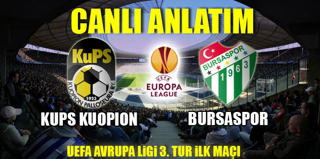 Kups Kuopion - Bursaspor