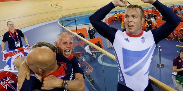 Bisiklet erkeklerde altın madalya ev sahibinin