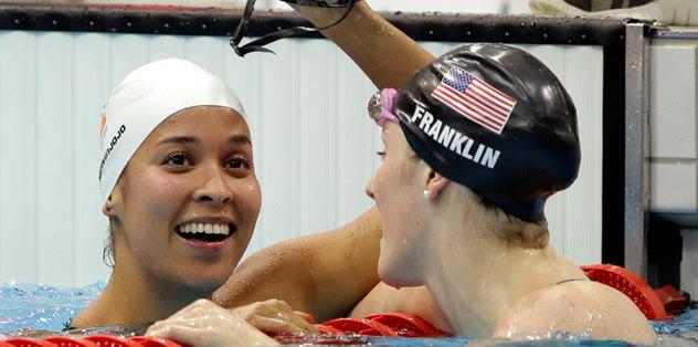 Altın, Olimpiyat rekoruyla geldi