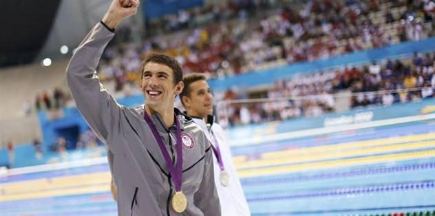Phelps madalyaya doymuyor