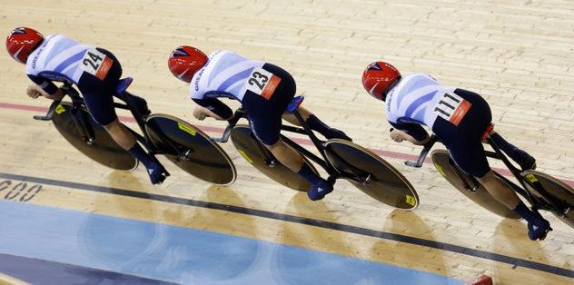 Pist bisikletinde Büyük Britanya'dan dünya rekoru