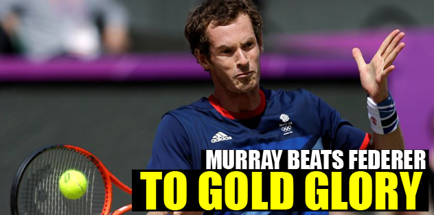 Murray beats Federer to gold glory