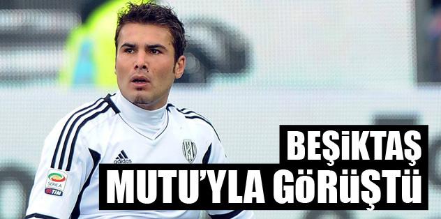 Mutu, Beşiktaş'la görüştü