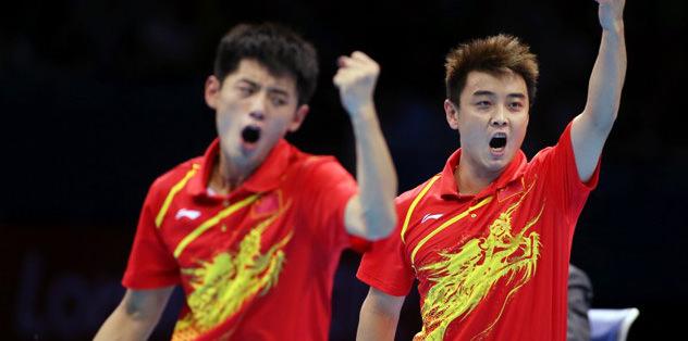 Masa tenisinde Çin altını bırakmadı
