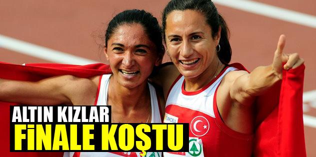 Altın kızlar finale koştu