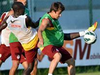 Galatasaray S�per Kupa haz�rl�klar�na ba�lad�