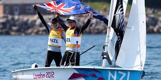 Yelken 470 sınıfında altın madalya Yeni Zelanda'ya gitti