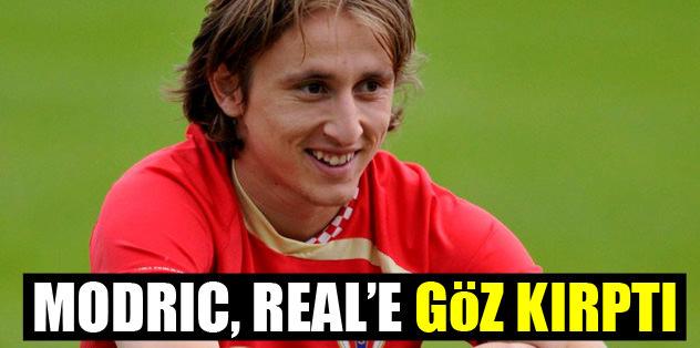 Modric, Real'e göz kırptı