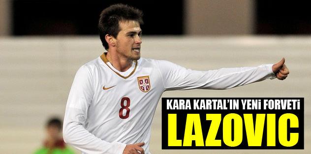 Kara Kartal'ın yeni forveti Danko Lazovic