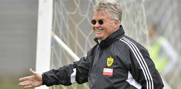 Hiddink takipte