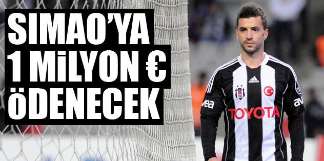 Beşiktaş Simao'ya 1 milyon euro ödeyecek
