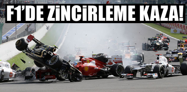 Formula 1'de zincirleme kaza